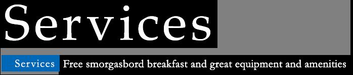 service breakfast facilities